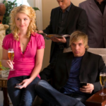 REBECCA (Whitney Able) and RUSSELL (Ryan Hansen) learn their sister burned down their father's new appliance store.